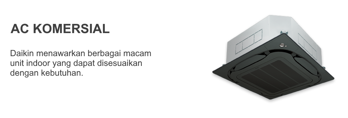 AC DAIKIN SKYAIR - Cassette Daikin - Pasang AC Daikin - Global Teknik
