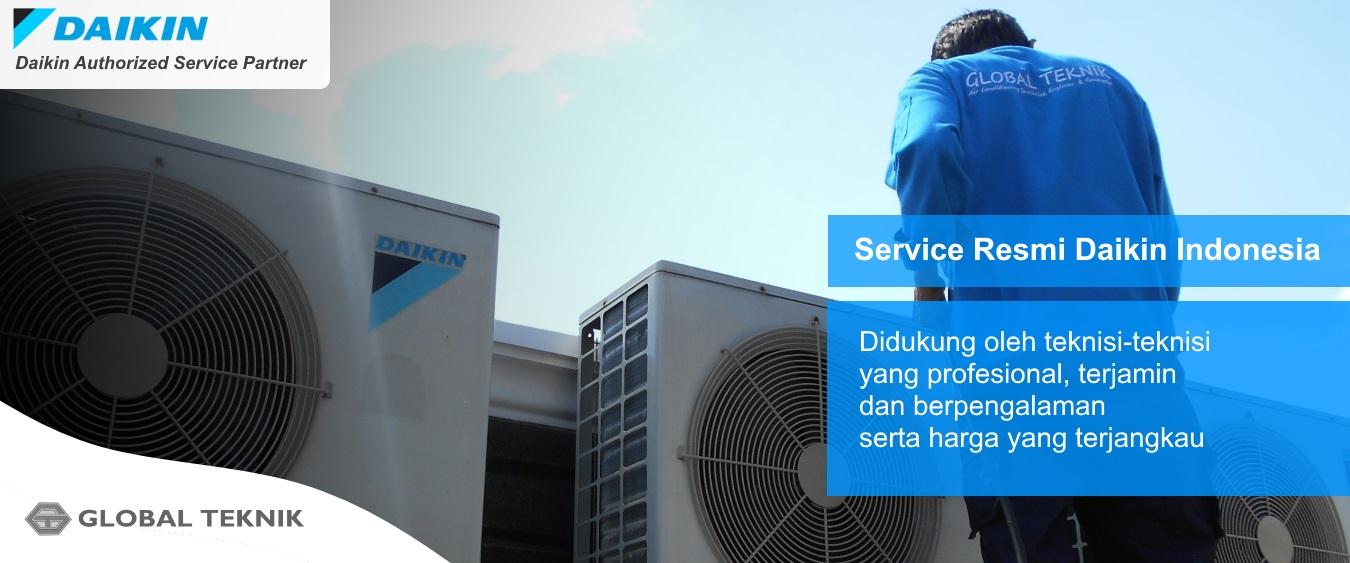 Authorized Daikin Service - CV Global Teknik - Service Resmi Daikin