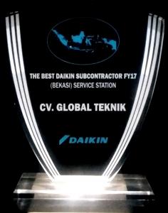 The Best Daikin Subcontractor - Global teknik - Service Resmi Daikin